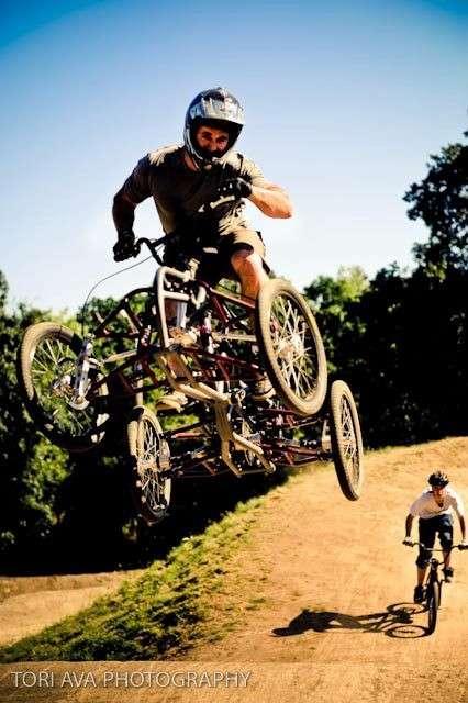 Fantastic Four-Wheeled Bikes