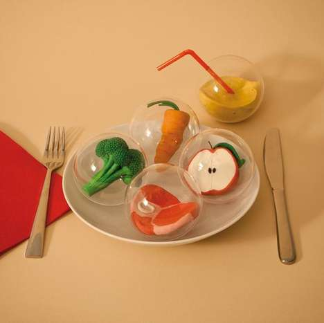 Miniature Clay Food Capsules
