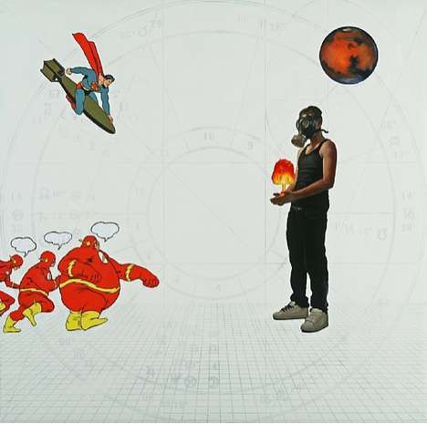 Cosmic Comic Paintings