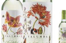 Floral Vino Branding - Harcus Design Outfits Christobel's Wine with a Fine Flowery Label