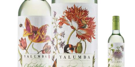 Harcus Design Outfits Christobel's Wine with a Fine Flowery Label