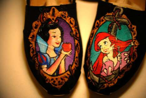 Customized Disney Princess Kicks
