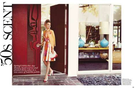 Vibrant Housewife Editorials