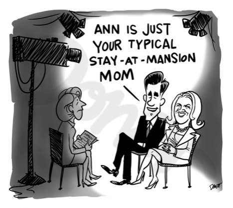 Caricatured Political Wives