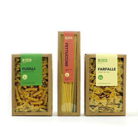 Open-Faced Pasta Boxes