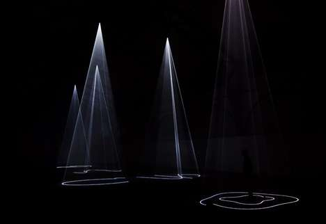 Anthony McCall Makes Intangible Sculptures Strikingly Bright