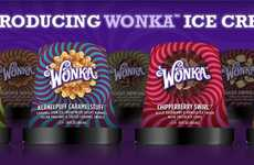 Classic Storybook-Inspired Sweets - Wonka Ice Cream is Set to Hit Shelves in Seven New Flavors