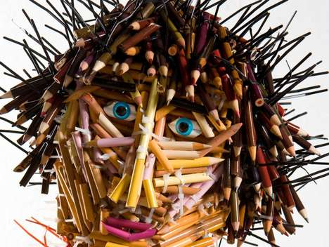 Pencil People Sculptures