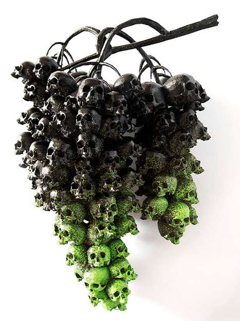 Deadly Fruit Sculptures