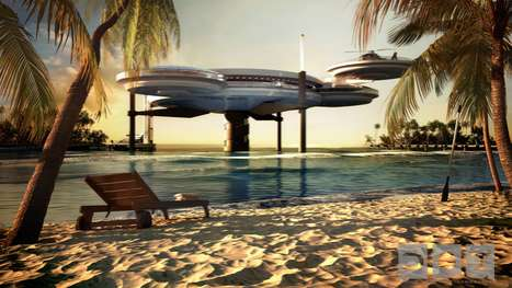 Deep Sea Vacation Dwellings - The Water Discus Hotel Lets Patrons Literally Sleep with the Fishes