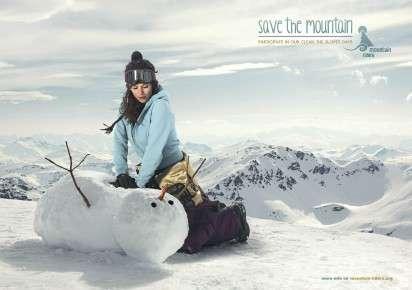 Snowman-Saving Ads