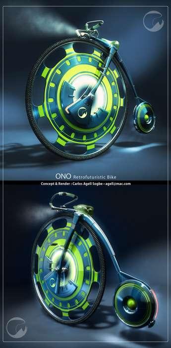 Retro-Futuristic Concept Cycles