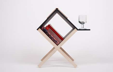 Simple Diamond-Shaped Furniture
