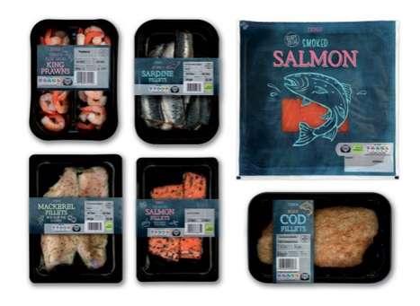 Chalkboard Seafood Branding