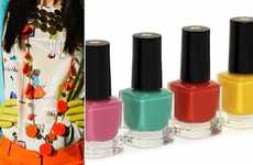 Pastel-Hued Nail Pigments - The Kate Spade Summer Nail Polish Set is Warm Weather-Ready