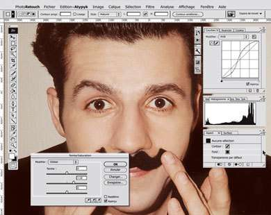 The Atypyk Photo Retouch Mirror is a Spoof on Photoshop