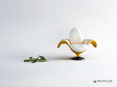 Banana-Shaped Seating