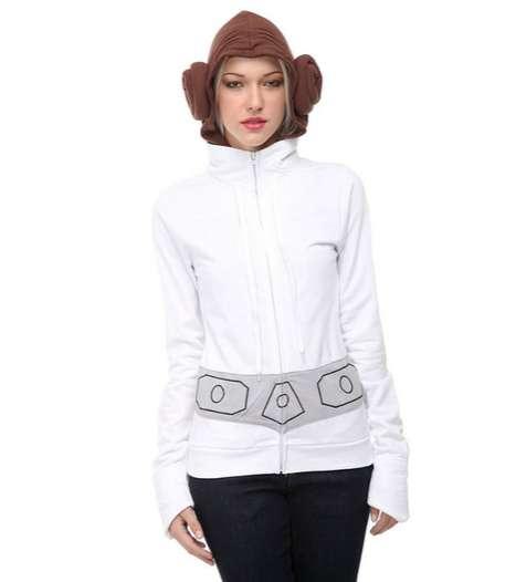 Sci-Fi Hairdo Sweatshirts