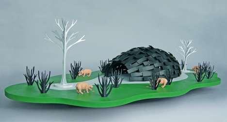 Perplexing Piggy Dioramas