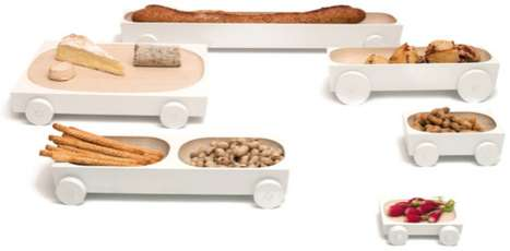 Mobile Snack Trays
