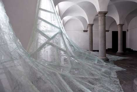 Eerily Icy Installations