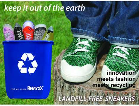 Fashionable Planet-Preserving Footwear