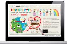 Romance Crowdsourcing Apps - LoveCounter Keeps Tabs on Romantic Social Media Activity