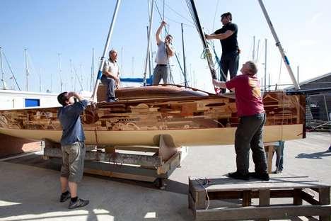 Upcycled Yachts