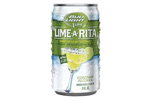 Margarita-Flavored Beers - Bud Light Releases the Lime-A-Rita