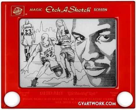 20 Enticing Etch-A-Sketch Innovations