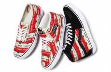 Soup-Branded Streetwear - The Supreme and Vans Campbell's Soup Line is a Must Have