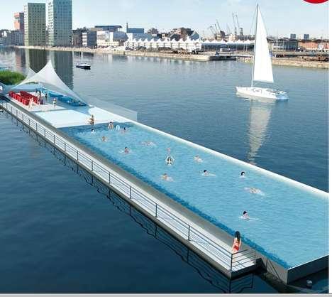 Repurposed Portable Pools