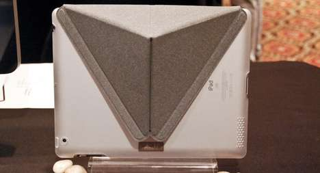 The Moshi iGlaze With VersaCover Unfolds to Prop Up the iPad