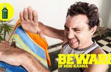 "Anti-Insect Killing Ads - The Premier Insect Repellent Campaign Warns ""Beware of Mini-Karma"""