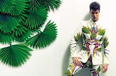 Boldly Botanical Menswear