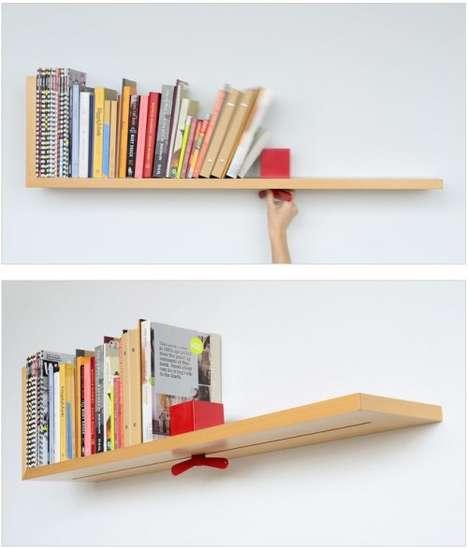 Astounding Adjustable Bookshelves