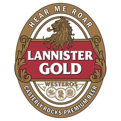 The 'satansbrand' Game of Thrones Alcohol Logos are Hilarious