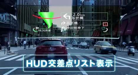 Virtual Reality GPS Devices - 'Cyber Navi' by Pioneer Combines Mario Kart Racing with Car Navigation