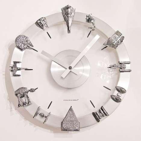 Sleek Sci Fi-Savvy Timekeepers