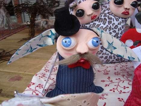 Bizarre Bug-Eyed Dolls