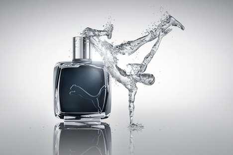 Splashing Fragrance Ads