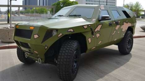 Hybrid Army Hummers