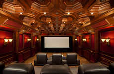 DIY Theater Constructions - A California Man Creates a Home Theater Garage