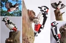 Avian Fauna Building Blocks - LEGO Birds by DeTomaso Pantera are Anatomically Accurate and Charming