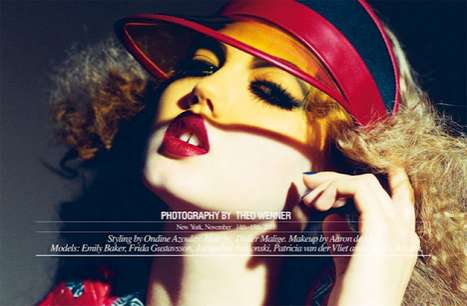 The Self Service Magazine Spring Summer 2012 Wenner Editorial is Vibrant