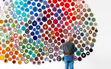 Crocheted Pot-Holder Artworks