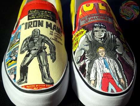 Custom Comic Cover Kicks