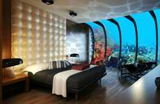 Submerged Hotels - The Water Discus Underwater Hotel Allows You to Vacation in the Sea