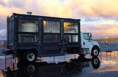 Traditional Pizzeria Foodtrucks - Jon Darsky Del Popolo Delivers Pizza to the San Francisco Area