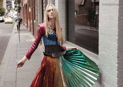 Eclectically Gritty Editorials